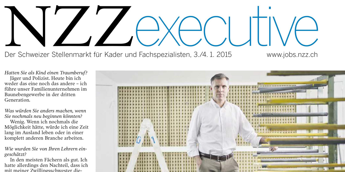 Printscreen NZZ Executive
